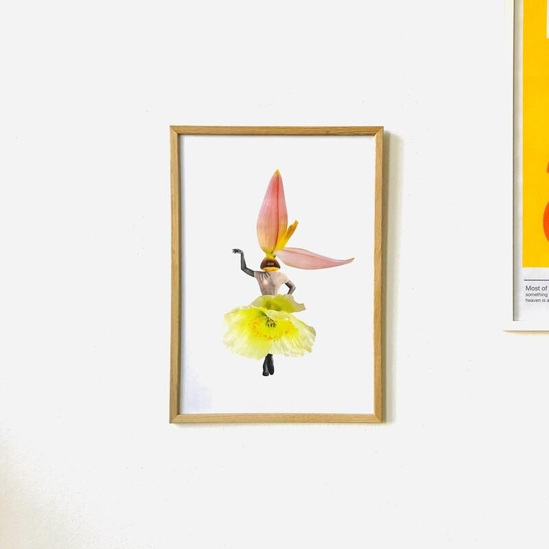 print | flower