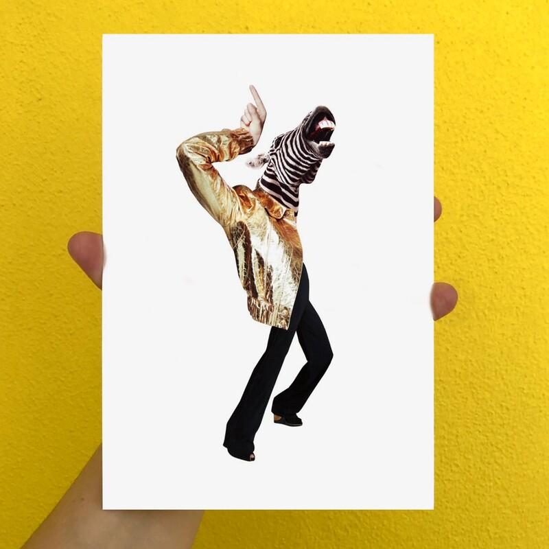 print | party animal