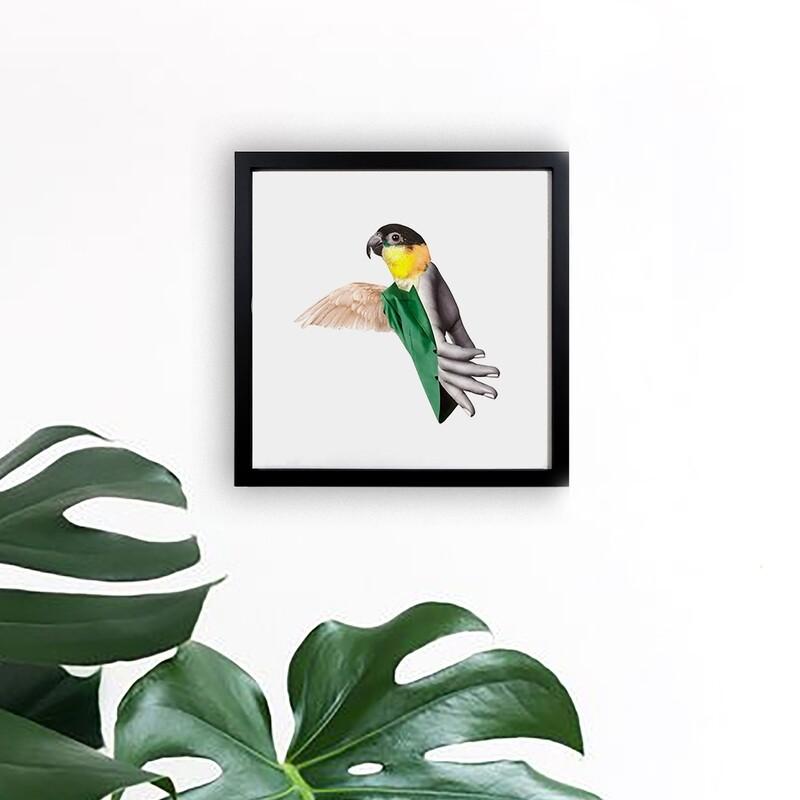 bird   original collage