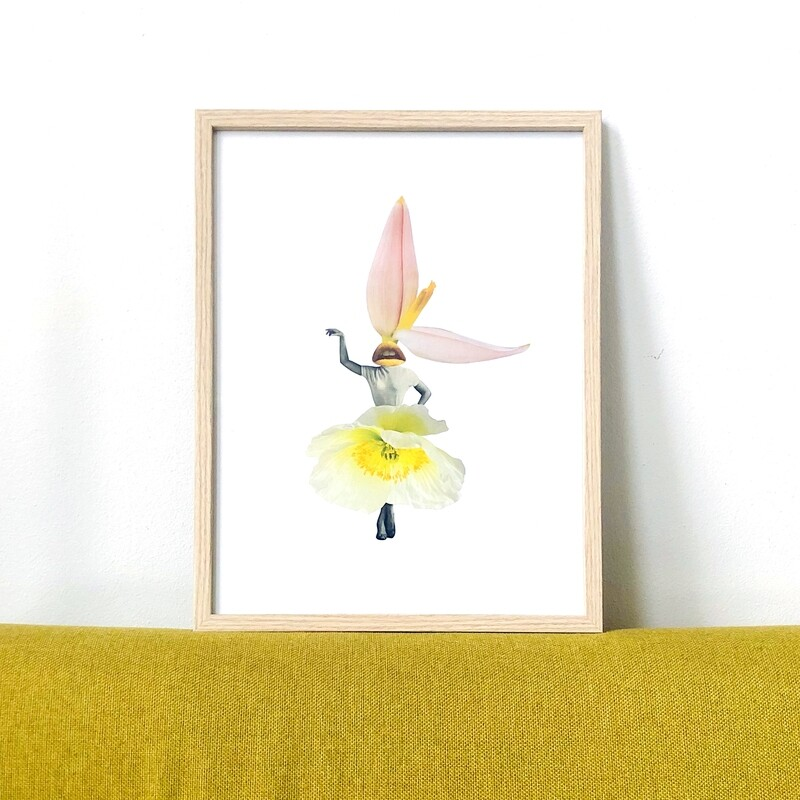 Flower   original collage