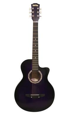 Purple  Kids, Children Acoustic Guitar For Beginners  iMusic805PP