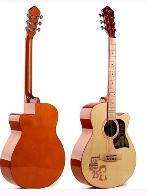 Factory Error - Acoustic Guitar 40 inch Beginners Natural Unique Style iMusic221PT