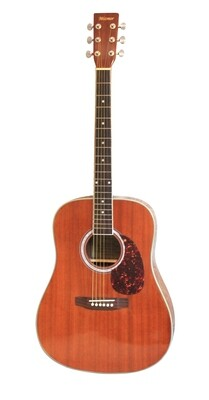 Acoustic guitar Sapele Rosewood fingerboard 41 inch Full Size Mizmor E600PM
