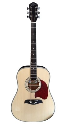 Acoustic Guitar 41 inch full size OSCAR SCHMIDT OG2NAT Natural Dreadnought Body