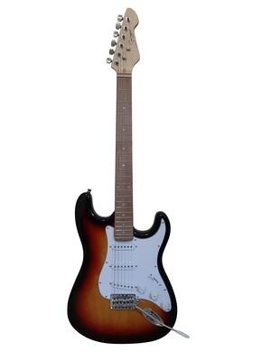 Electric Guitar ST Style full size for beginners Sunburst iMEG280MP iMusicGuitar