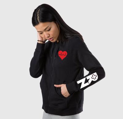 EKG Nurse women's hoodie