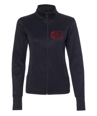 ER women's collared jacket