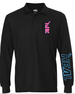 Vice ER Unisex Long Sleeve Polo