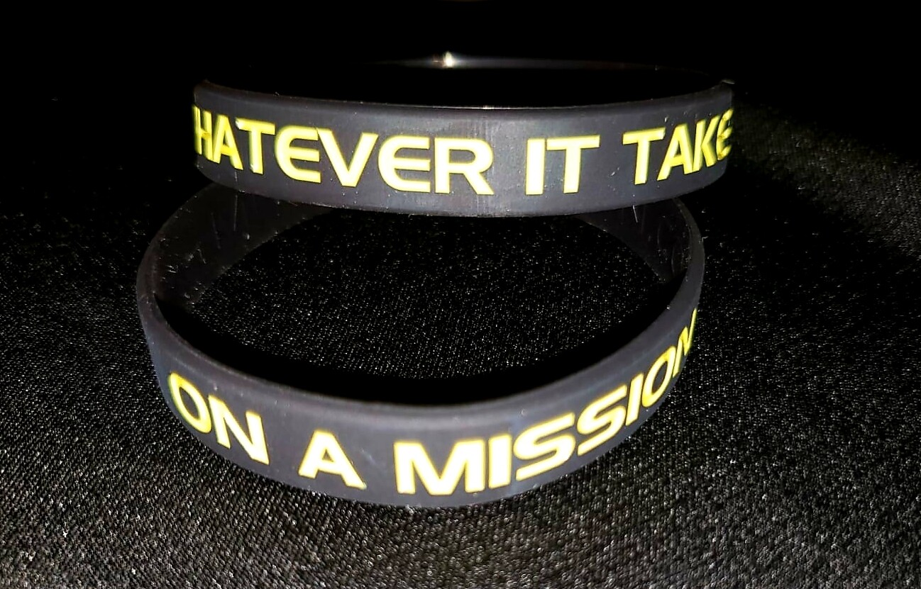 ON A MISSION Wristband