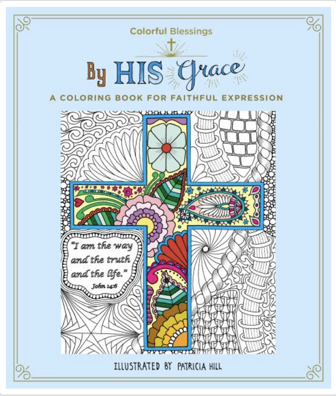 By His Grace Coloring Book