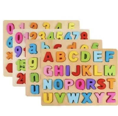 Montessori Wooden Letters