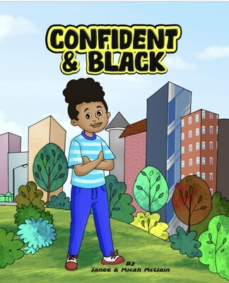 Confident & Black Children's Book