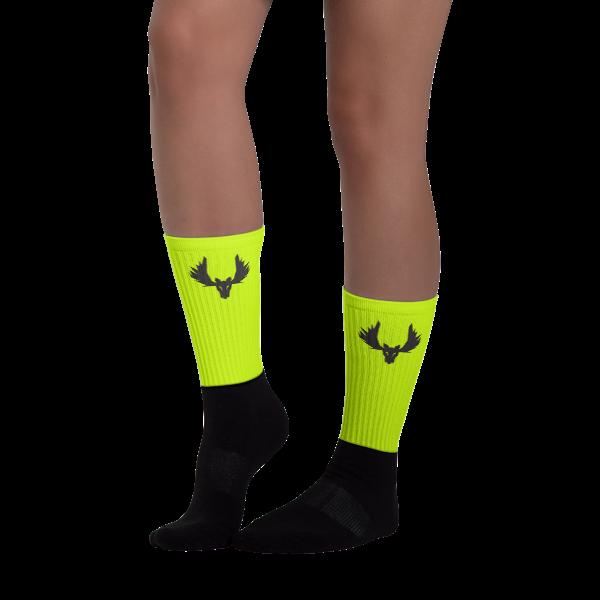 Flo Yellow Socks