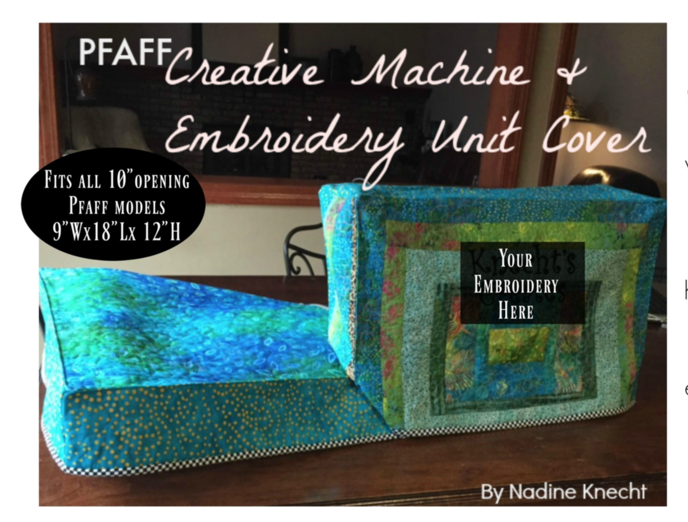 PFAFF Creative Machine Cover