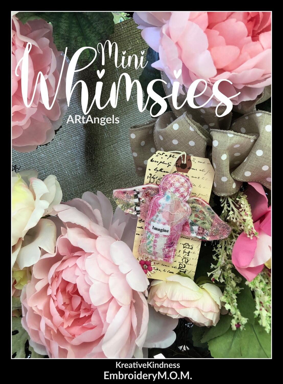 Mini Whimsies ARtAngel Pin