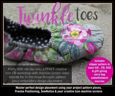 Twinkle Toes PFAFF Creative Icon Workshop