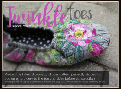Twinkle Toes Slipper PATTERN