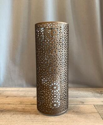 Windlicht Arabesque bronze, L