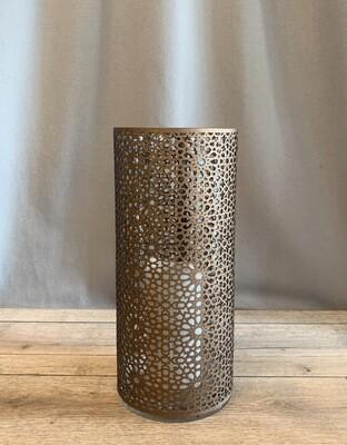 Windlicht Arabesque bronze, M
