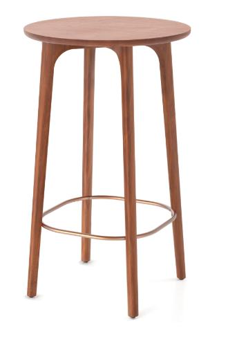 STELLAR WORKS Utility Bar Table 110cm Nussbaum