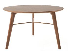 STELLAR WORKS Utility Coffee Table 80 cm Nussbaum