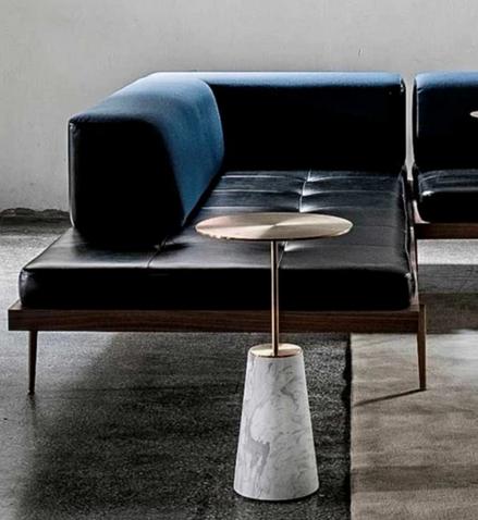 STELLAR WORKS Bund  Coffee Table Marmor black