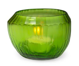 GUAXS MALIA tealight lemon green