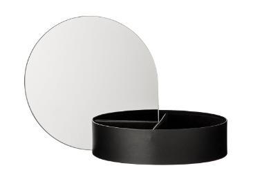 AYTM GUTTA jewelry box Black Länge 22 cm