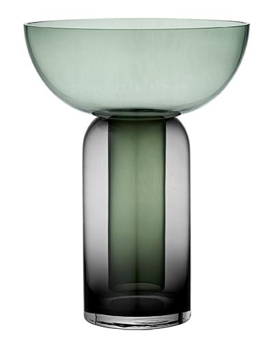AYTM TORUS Vase black/forrest