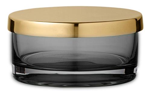 AYTM TOTA Zylinder / Glasschale schwarz_klein