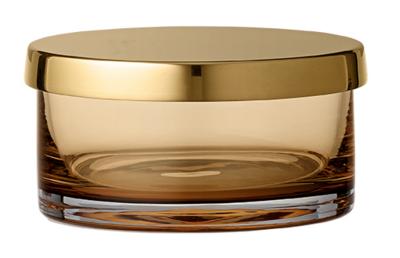 AYTM TOTA Zylinder / Glasschale amber_gross