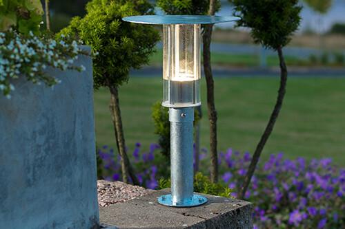MODE LED-Sockellampe für Outdoor