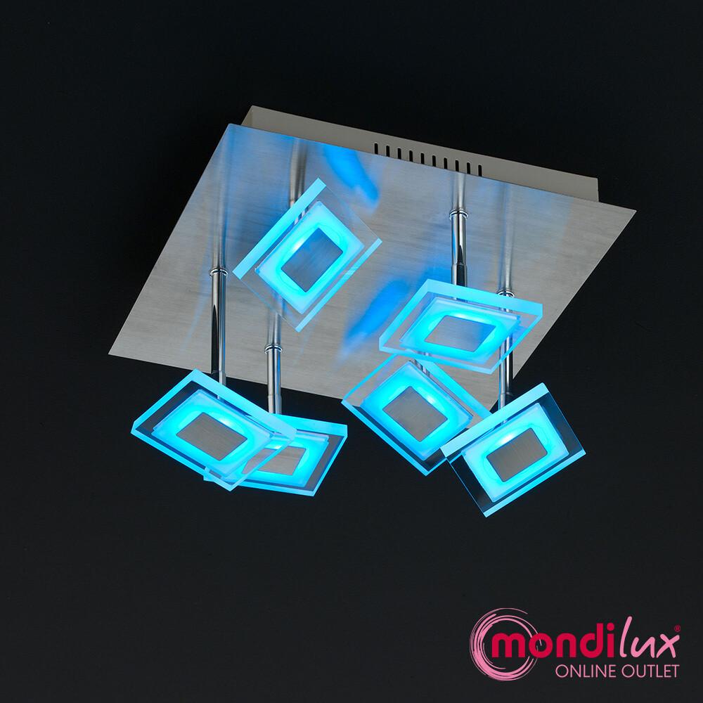 MEGAN LED-Deckenlampe mit Fernbedienung