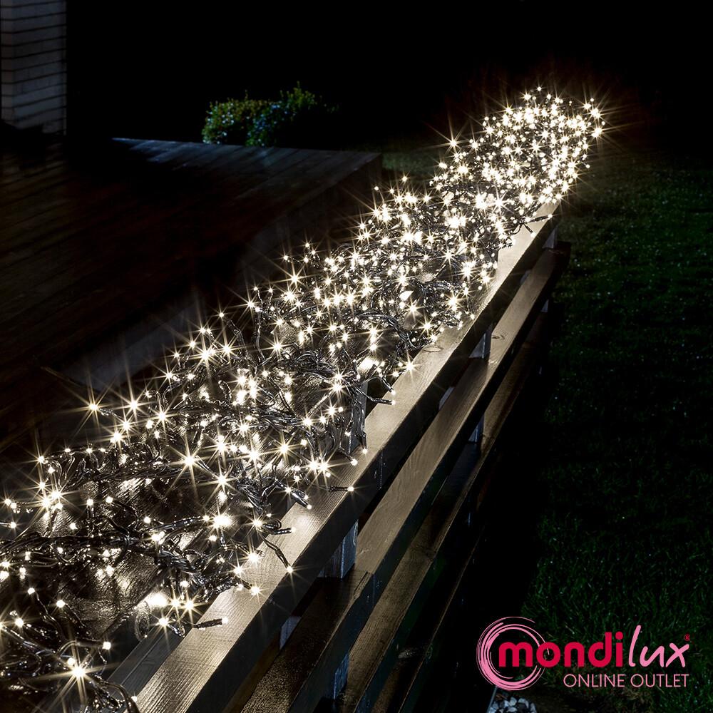 Büschellichterkette mit 1540 LED's für In- und Outdoor
