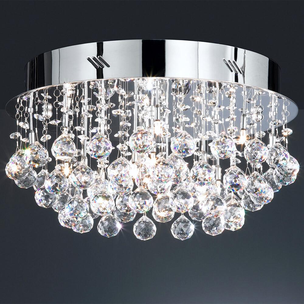 BAIMA Deckenlampe mit Asfour-Bleikristall