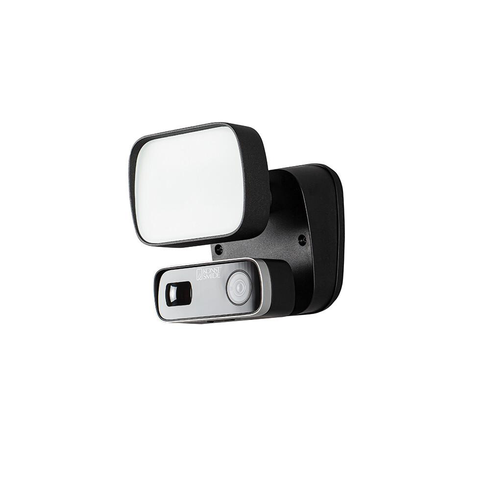 SMARTLIGHT LED-Wandlampe mit Bewegungssensor und HD Kamera