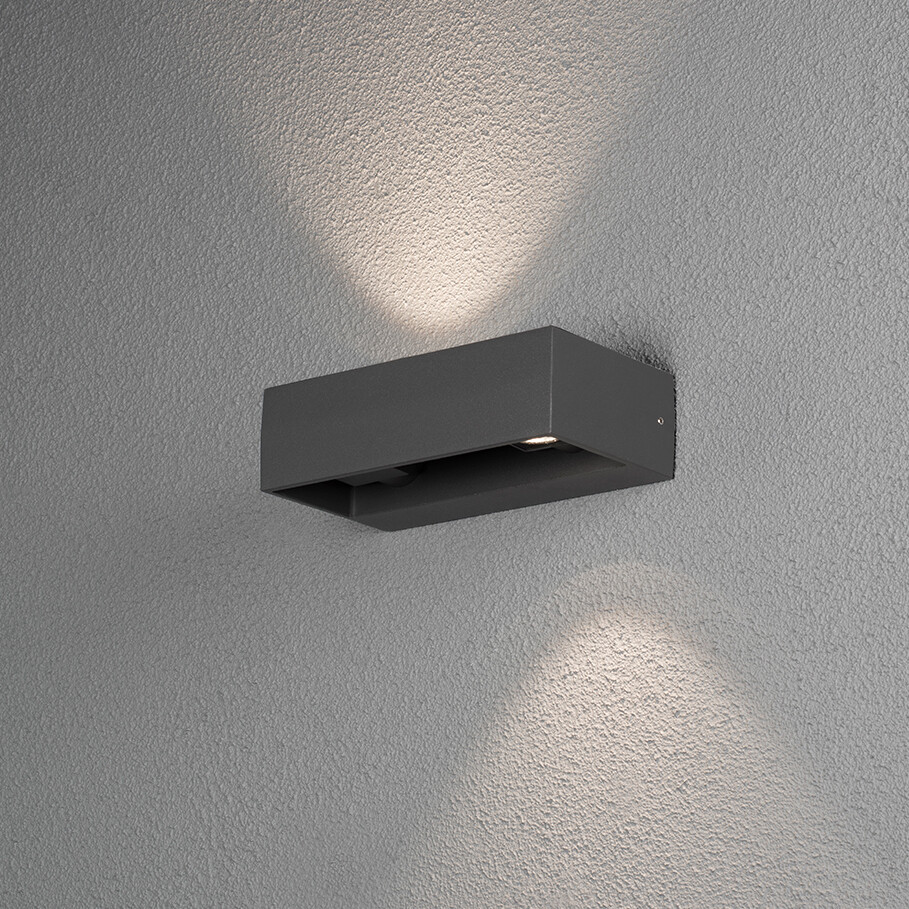 MONZA LED-Wandlampe für Outdoor