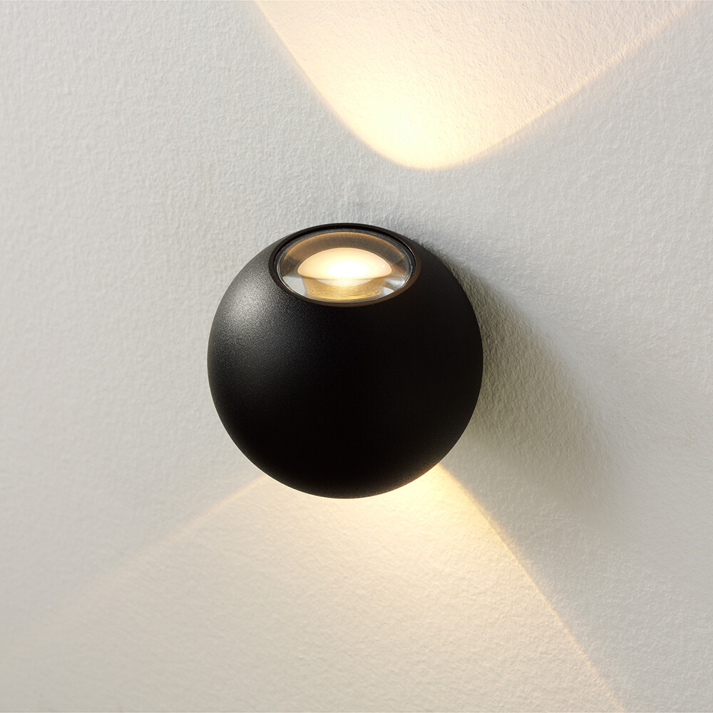 DENVER LED-Wandlampe für In- und Outdoor