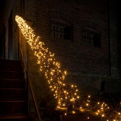 Büschellichterkette mit 288 LED's für In- und Outdoor