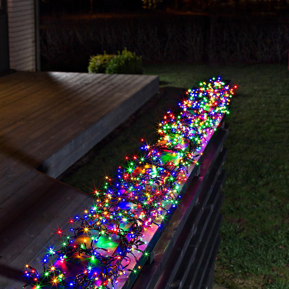 Büschellichterkette mit 580 LED's für In- und Outdoor