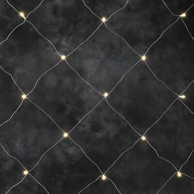 LED-Lichternetz mit 64 LED's für In- und Outdoor