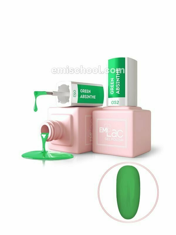 E.MiLac NEON- Green Absinthe #052, 9 ml.