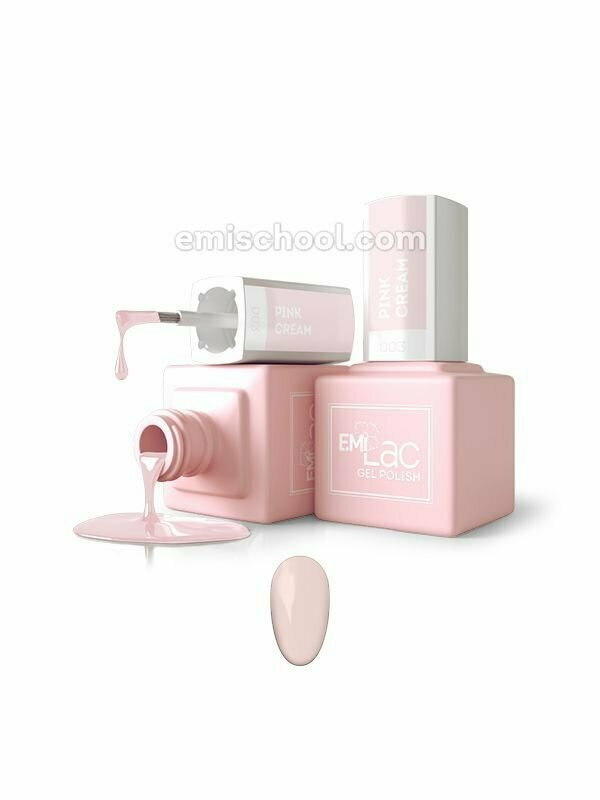 E.MiLac Pink Cream #003, 9 ml.