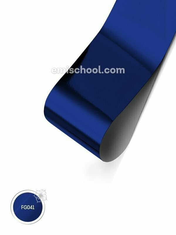 Glossy Foil- Cornflower Blue