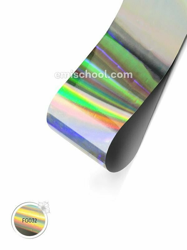 Holographic Foil- Silver