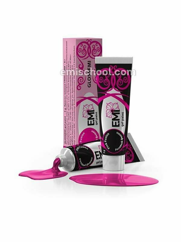 Glossemi Gel Paint- Pink Fusion, 5 ml