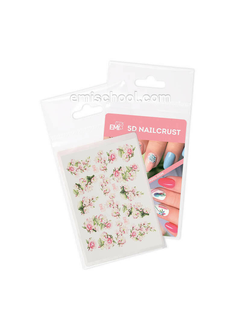 5D Nailcrust #4 Flowers
