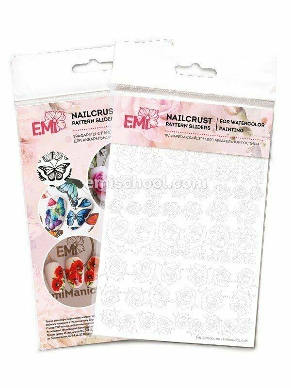 Nailcrust Pattern Slider Roses #32