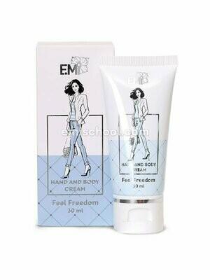 Hand and Body Cream- Feel Freedom, 30 ml