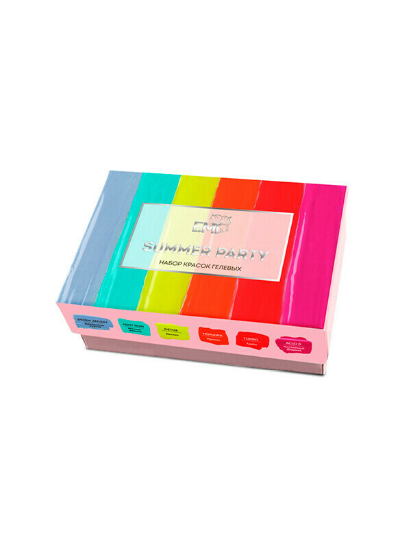Summer Party Gel Paints Set